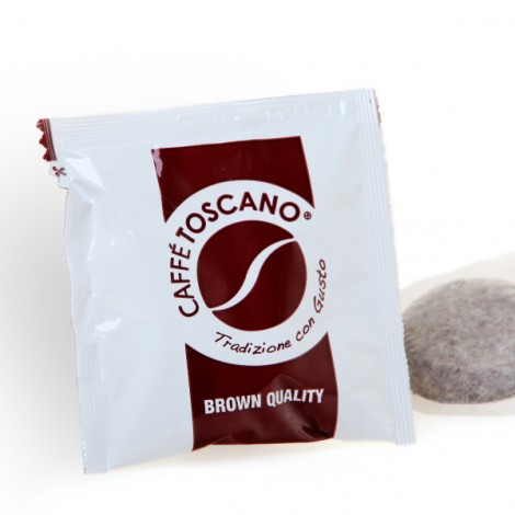 Caffè Toscano Brown Quality in Cialde